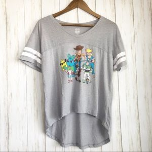 Disney Toy Story gray graphic tee size xl